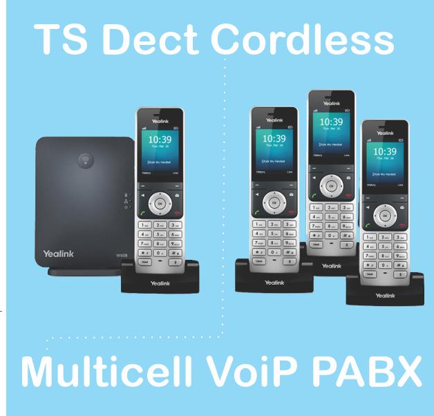 TS Dect Cordless PBX